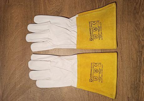 Rękawiczki spawalnicze, robocze, z koźlej skóry, bardzo mocne