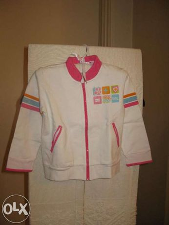 Fato de treino menina Chicco T 3 anos rosa e branco