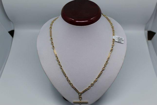 Złoto/Złoty łańcuszek 375 9K 23,64g Super Stan Okazja