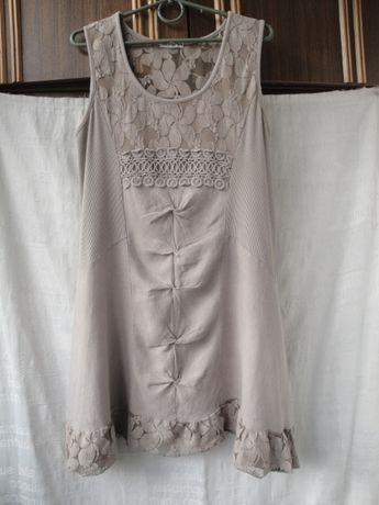 Освобождаю шкафы. Суперское льняное платье. Италия.48 - 50 р