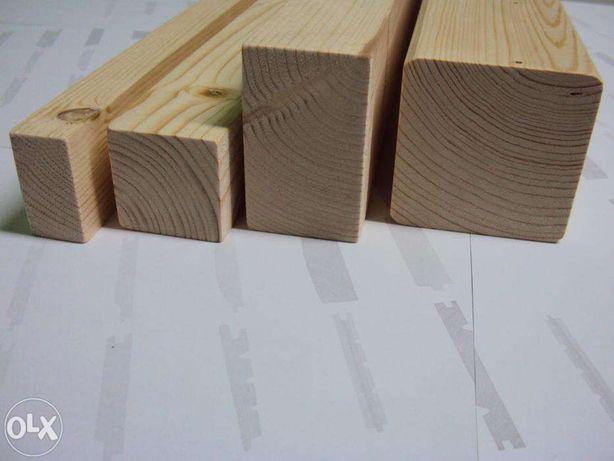 Drewno konstrukcyjne 45x95mm C24 CE świerk drewno skandynawskie