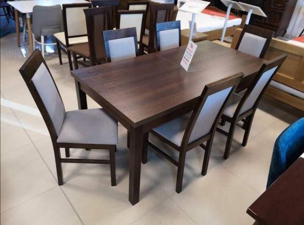 Stół + 6 krzeseł Nowe
