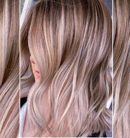 Балаяж 700грн. Окрашивание волос Трендовые растяжки цвета Шатуш Аиртач