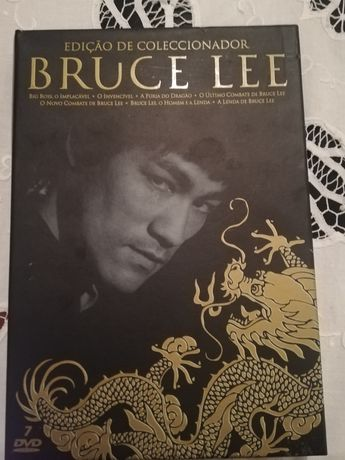 Edição de colecionador Bruce Lee dvds