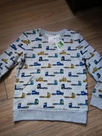 Nowa bluza dla chłopca