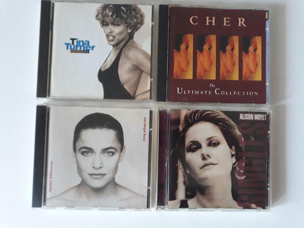 Płyty CD: Tina Turner, CHER, Jule Neigel Band