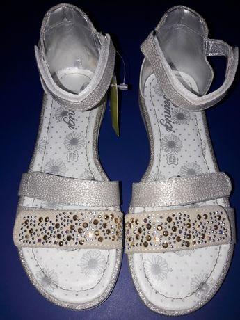 Primigi buty komunijne sandałki dla dziewczynki skóra 33