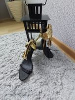 Sandałki złote Sergio Rossi r.40