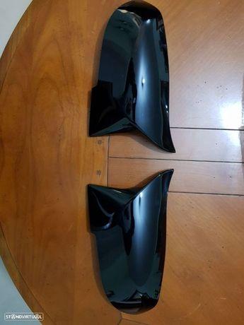 Capas de espelho tipo M3 bmw F20 + F30 + F31 + serie 4