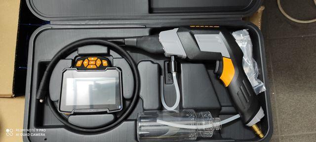 Kamera inspekcyjna endoskopowa z funkcją czyszczenia