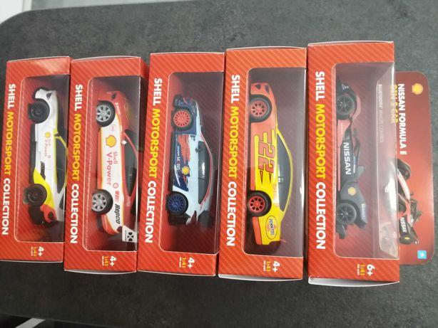 Sprzedam kolekcje autek Shell Motor Sport