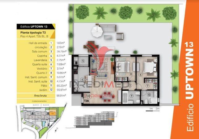 Apartamento T2 no Funchal
