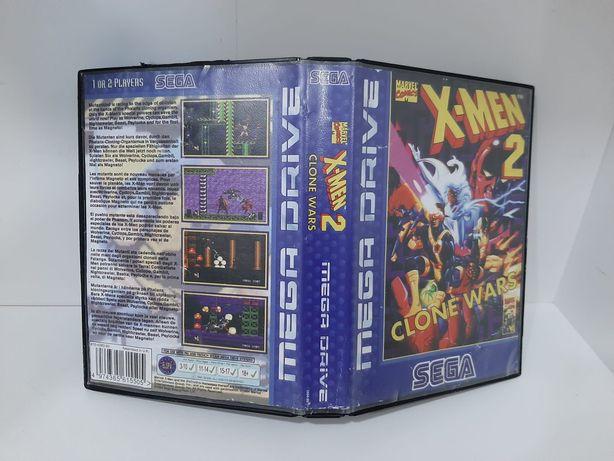 X-Men 2 Clone Wars Megadrive - Sega Mega Drive