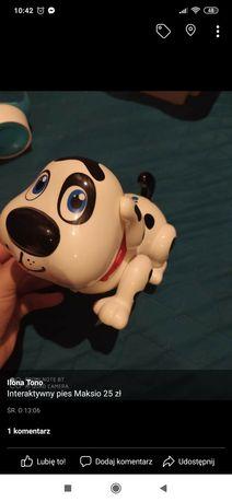 Interaktywny pies Maksio