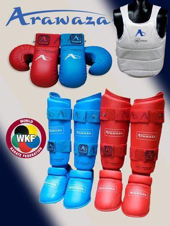 Arawaza WKF перчатки, футы для каратэ
