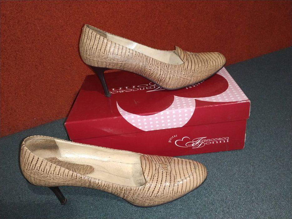 Туфли женские светлые нарядные Софиевская Борщаговка - изображение 1