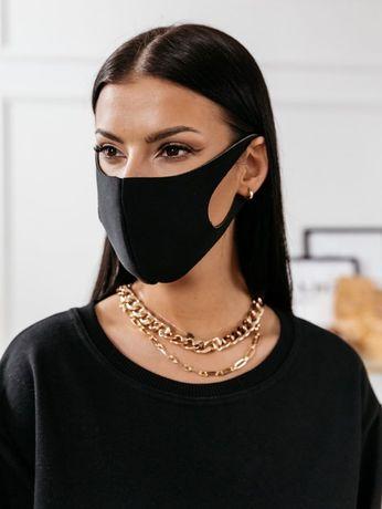 Maska maseczka OCHRONNA 3 warstwy Czarna Cocomore modalux.pl