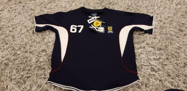 Koszulka sportowa t-shirt piłka nożna strój do piłki 140cm 146cm