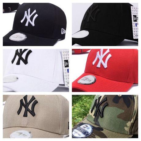 Кепка , бейсболка cap NY New Era 9FORTY Нью Йорк черный янкис