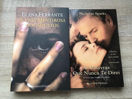 Nicholas Sparks + Elena Ferrante
