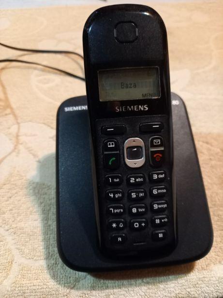 Telefon stacjonarny bezprzewodowy Siemens Gigaset AS180