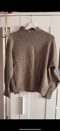 Wełniany sweter półgolf H&M