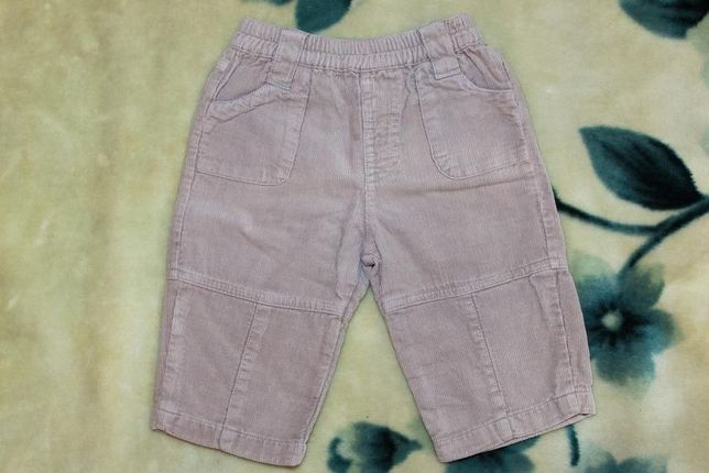 Вельветовые штанишки (штаны, брюки) ТМ BHS Bambini, р.3-6 мес., 68 см