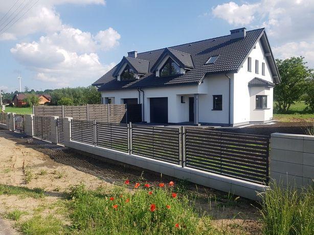 Nowe Domy z dużymi działkami pod Ciechocinkiem