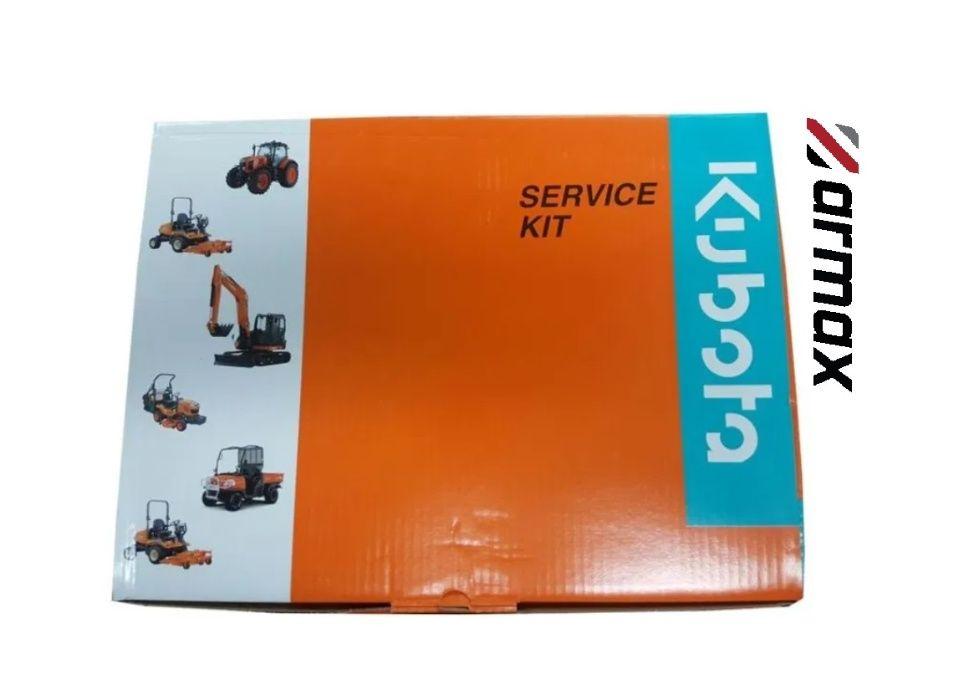 Oryginalny zestaw filtry do minikoparki KUBOTA KX121-3 U45-3