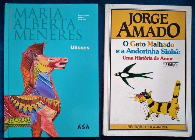 (6º ano) Ulisses + (8ºano) O Gato malhado e a andorinha Sinhá