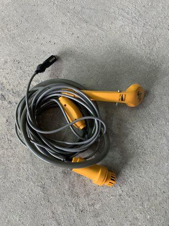 Chuveiro portátil 12v para ligar ao isqueiro do carro