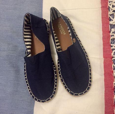 Sapatos de lona Lanidor azuis escuros NOVOS