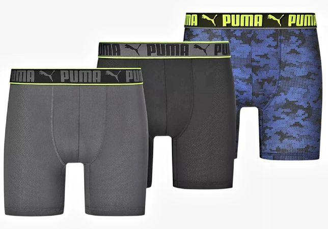 Мужские боксеры Puma, набор из 3х штук, оригинал!