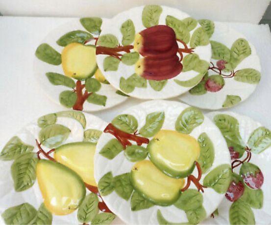 Винтажные тарелки ,франция майорикс