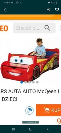 Disney łóżko autko , McQueen