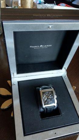 Zegarek męski Maurice Lacroix Pontos Rectangulaire Chronograph ZAMIANA
