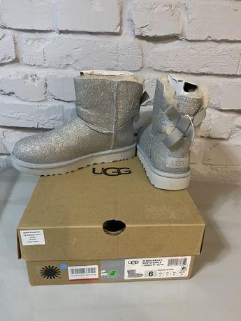 Новые ugg (emu,moon boot)с глиттером