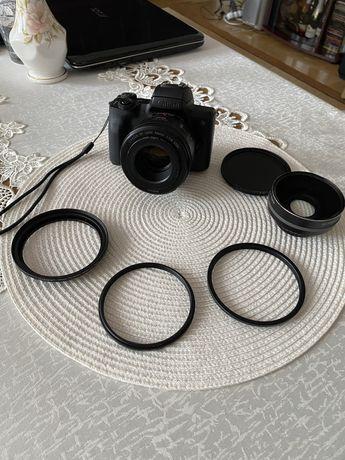 Canon EOS M50 + filtr z adapterami OKAZJA
