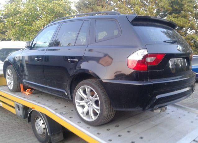 BMW X3 E83 3.0D M-Pakiet Wózek Sanki Amortyzatory Sprężyny Kołyska X3M