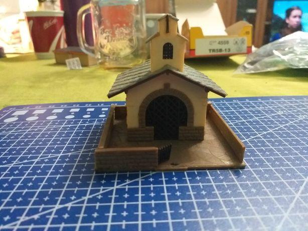 dom domek kaplica kosciołek skala tt 1:87 makieta kolejka + gratis