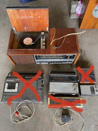 Радиоприемники проигрыватели Рекорд 314 Кварц 404 Артек радио