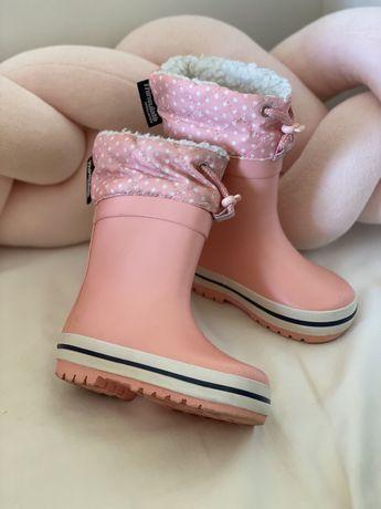 Гумовці на дівчину, гумаки дитячі, резинові чоботи на дівчинку