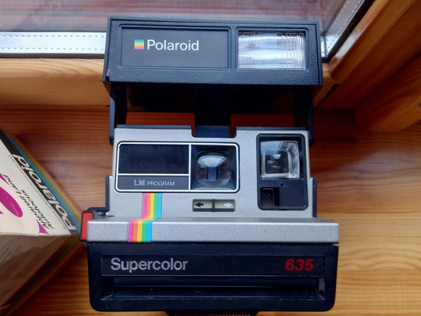 Polaroid Supercolor 635 LM Program unikat!cena okazyjna!