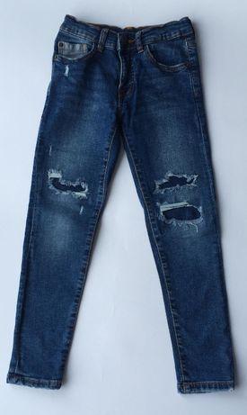 jeansy rurki ZARA 128