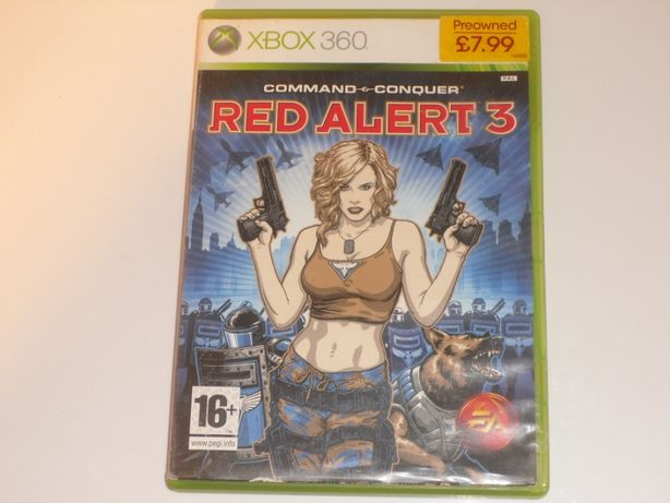 Command&Connquer Red ALert 3 Xbox 360