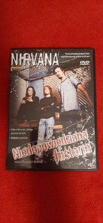 DVD Nirvana Nieopowiedziana Historia