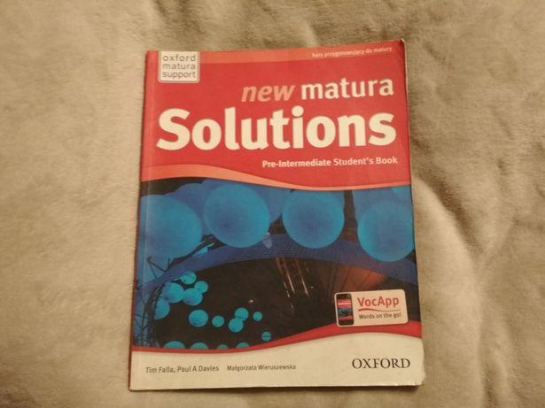 New matura solutions students'book