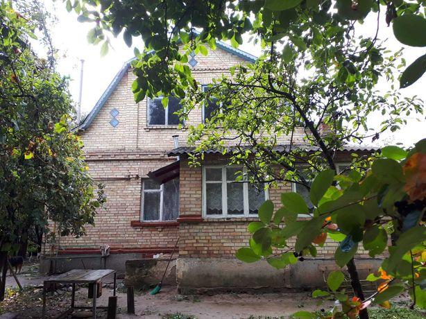 Кирпичный дом 1991г.п. 100м2 , уч. 13сот, ж/б перекрытия, мансарда