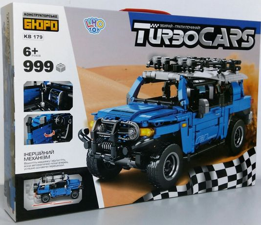 "Конструктор TECHNIC SD 8500 ""Toyota FJ Cruiser"", 999 дет. Лего"