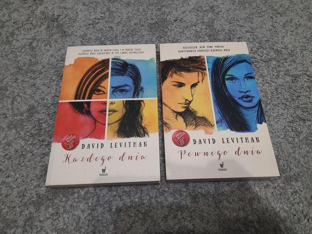 """""""Każdego dnia"""", """"Pewnego dnia"""" David Levithan"""
